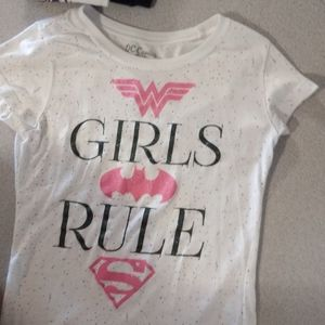 Girls hero shirt